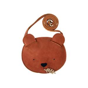 Donsje Bear Bag Leather