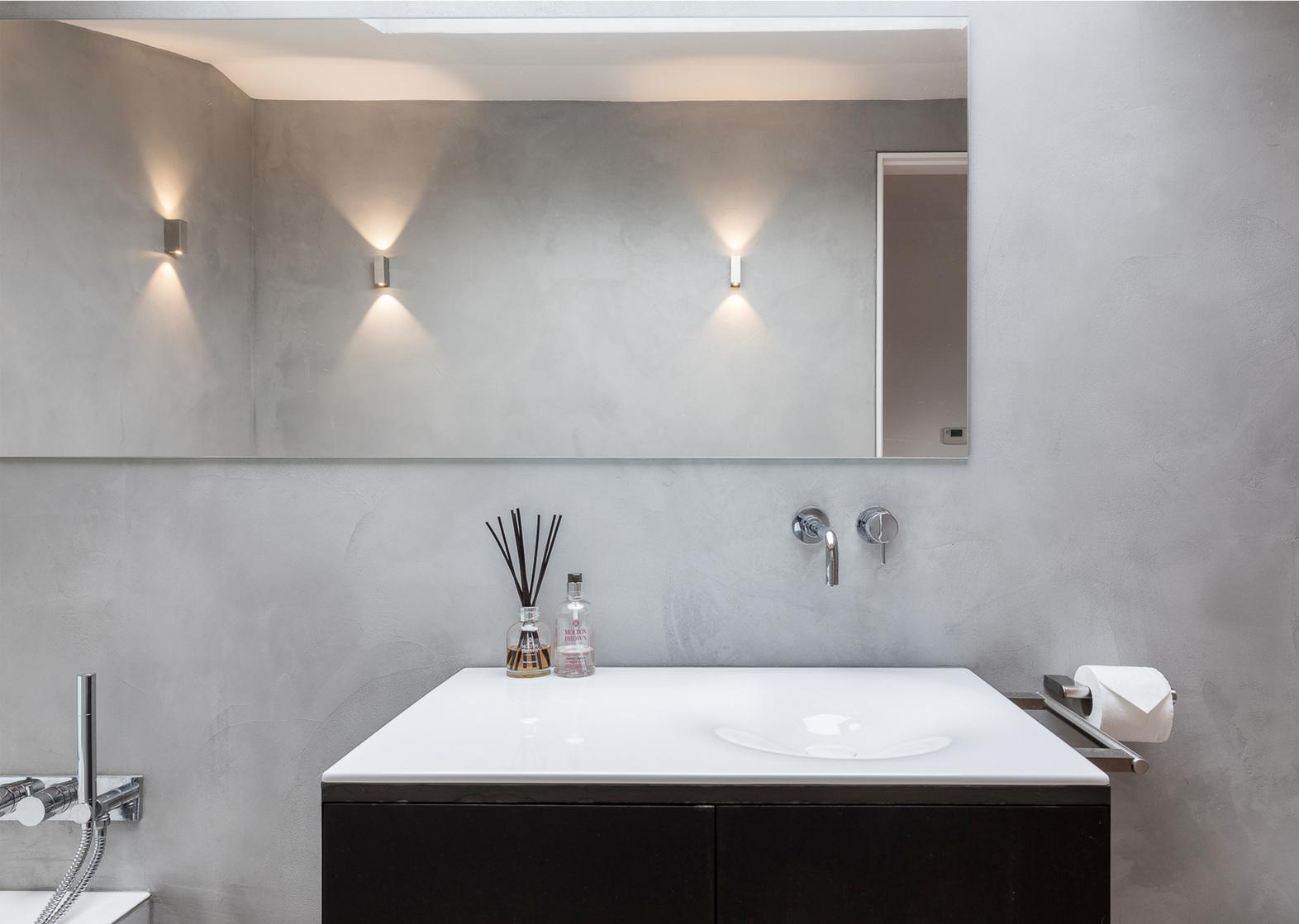 Polsihed COncrete Bathroom in Croydon London