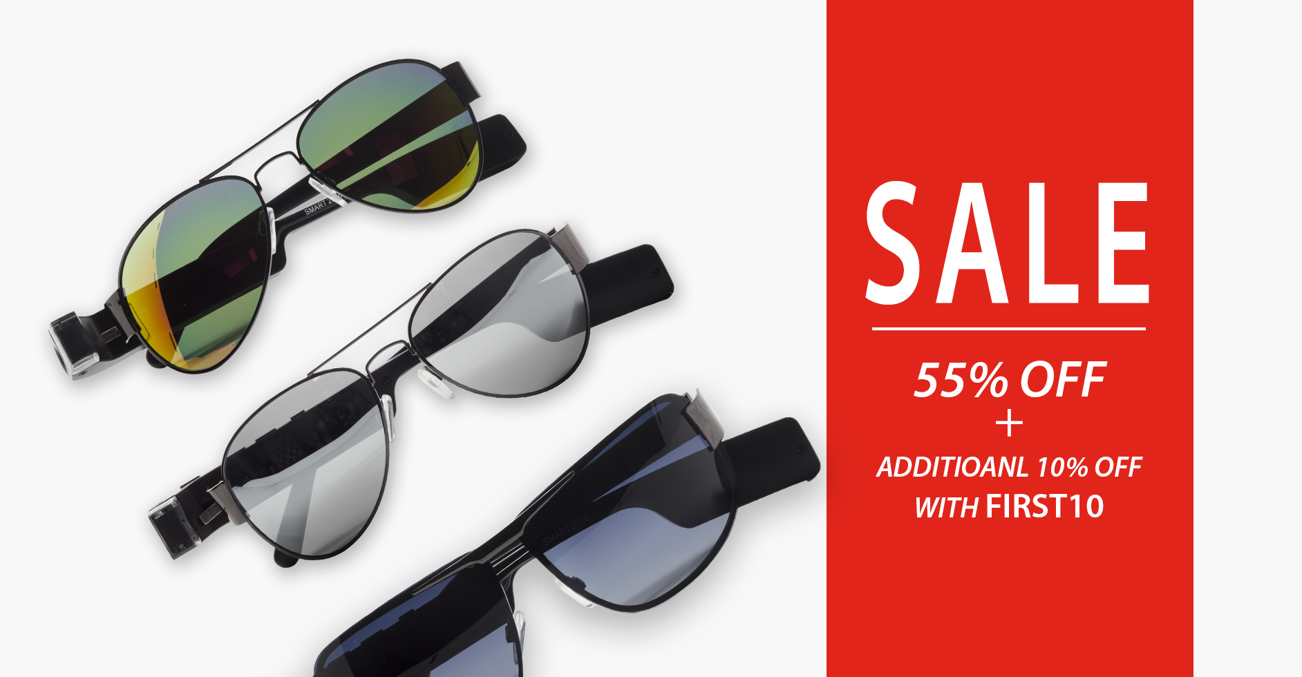 On Sale- Up to 55% Off+ Additional 10% Off with coupon code FIRST10