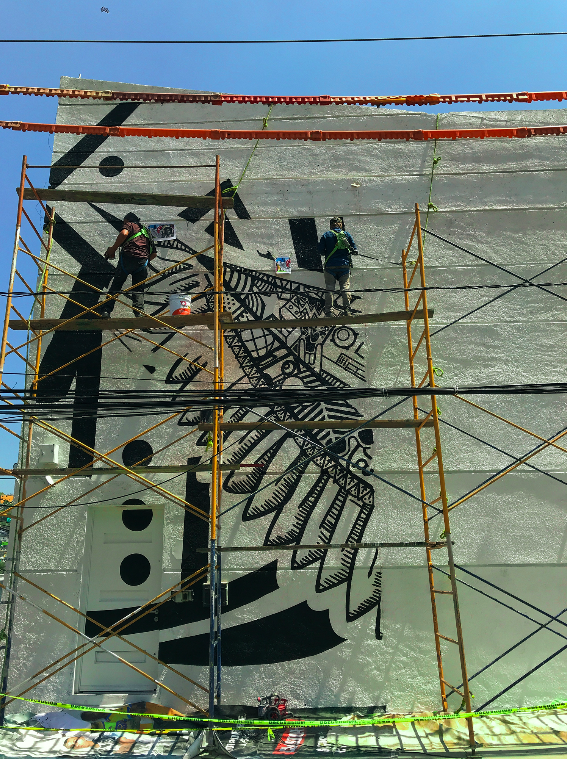 mega mural gowin