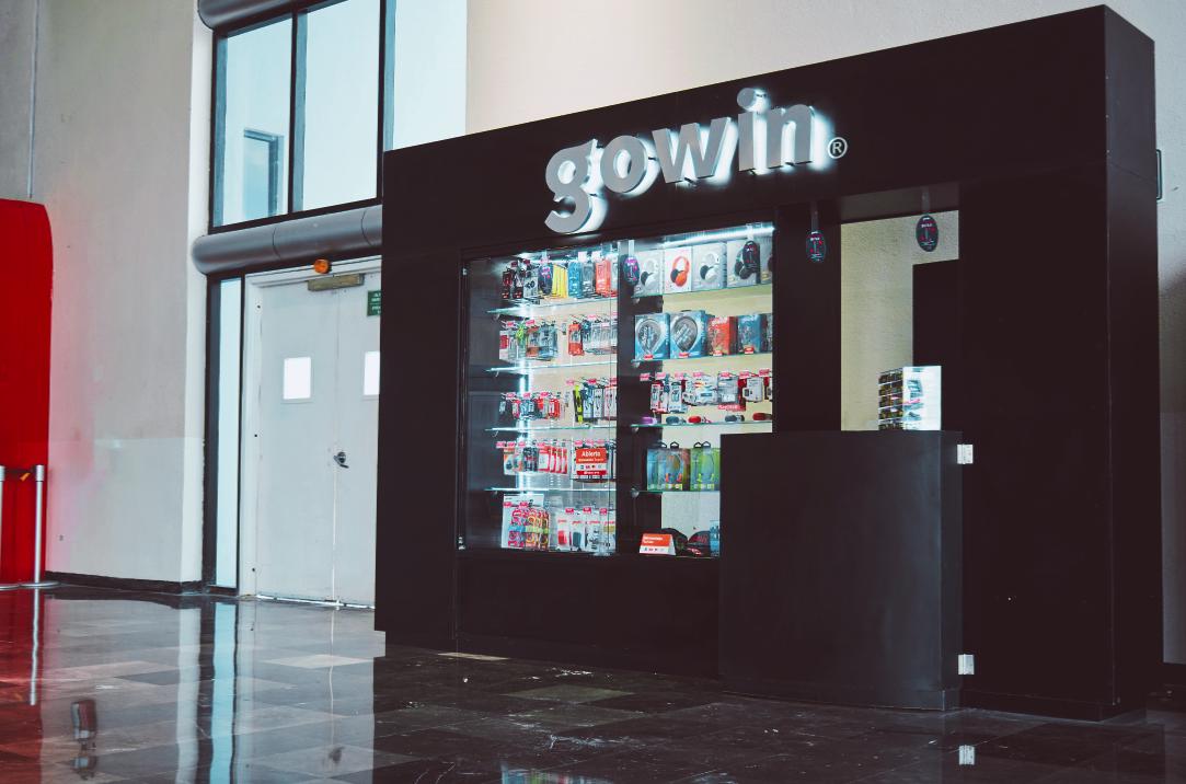 tienda gowin aeropuerto monterrey terminal A