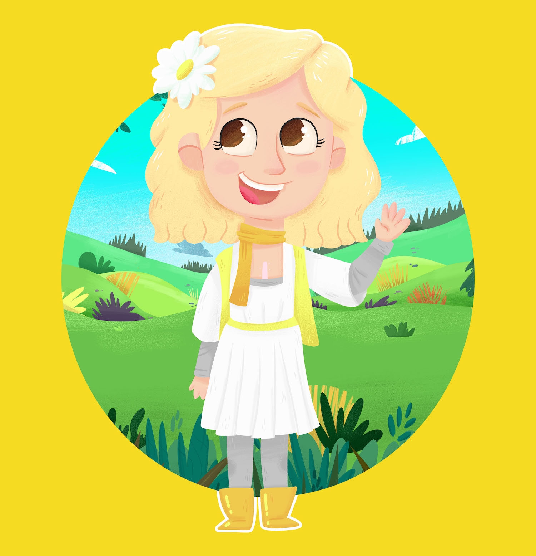 CHD Children's Book Series Character