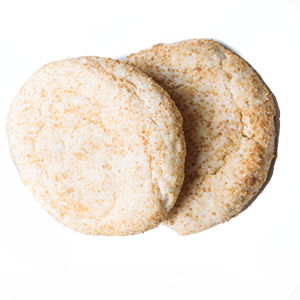 photo of traditional cheesecake cookie