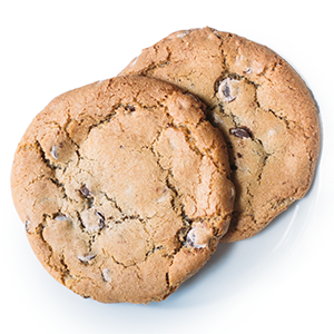photo of traditional chocolate chip cookie