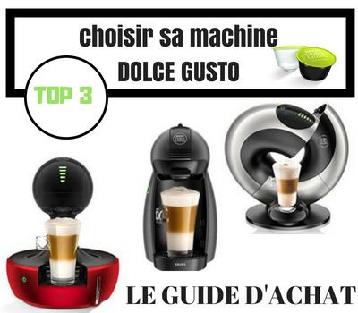 Guide d'achat machine à café dolce gusto