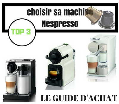 Guide d'achat machine Nespresso