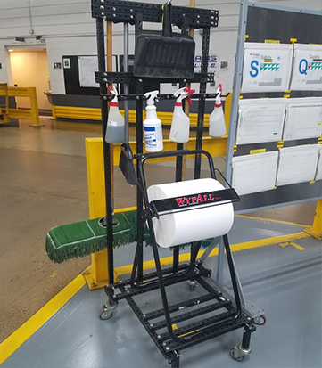 cleaning-cart