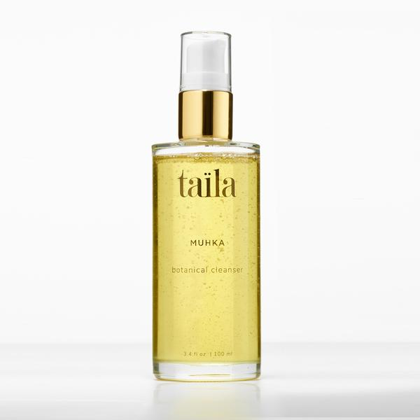 Taila non-toxic Ayurvedic beauty Muhka Oil Cleanser with turmeric