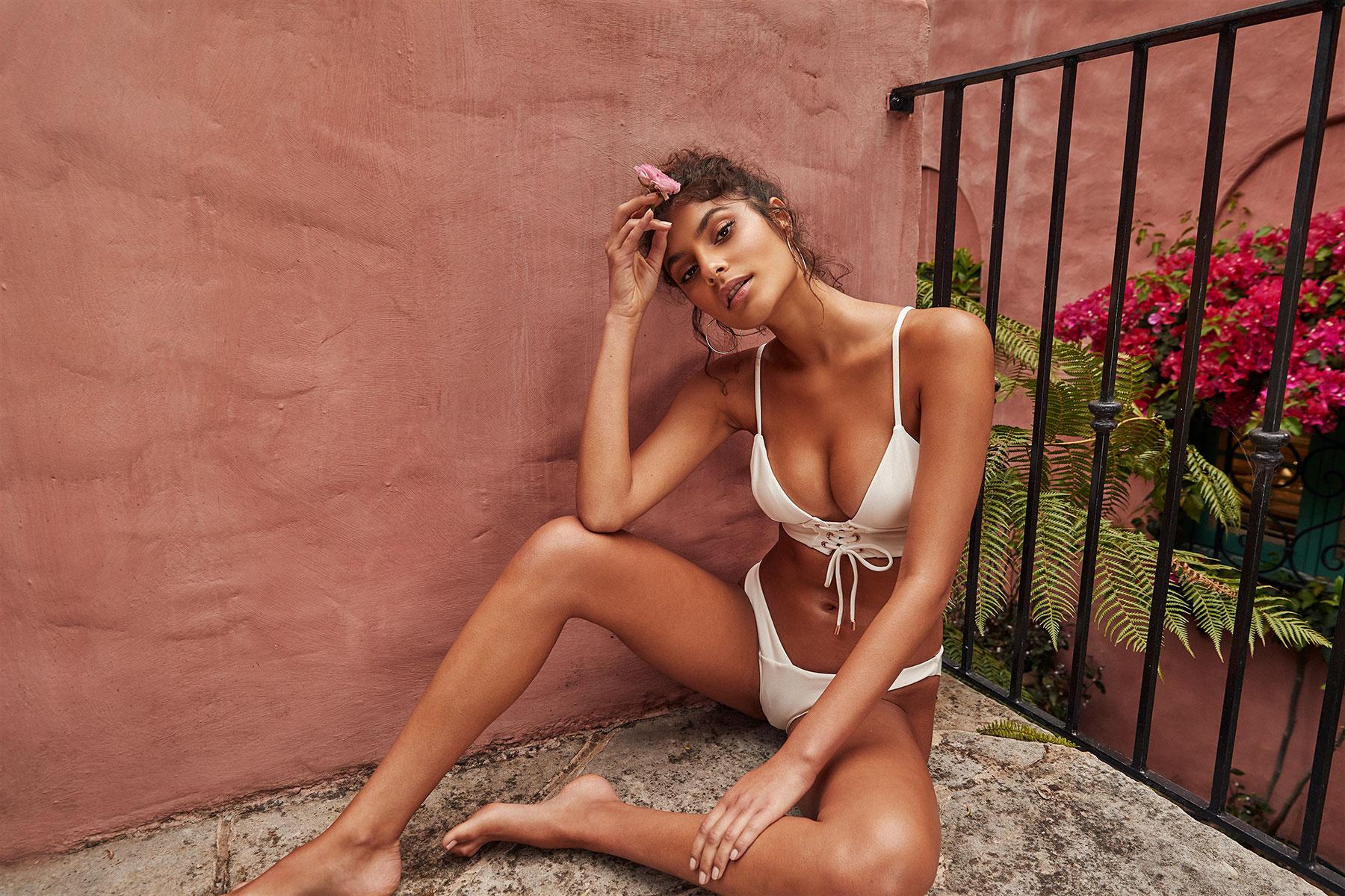 Kopper & Zink Tobi & Hugo Bikini in cream