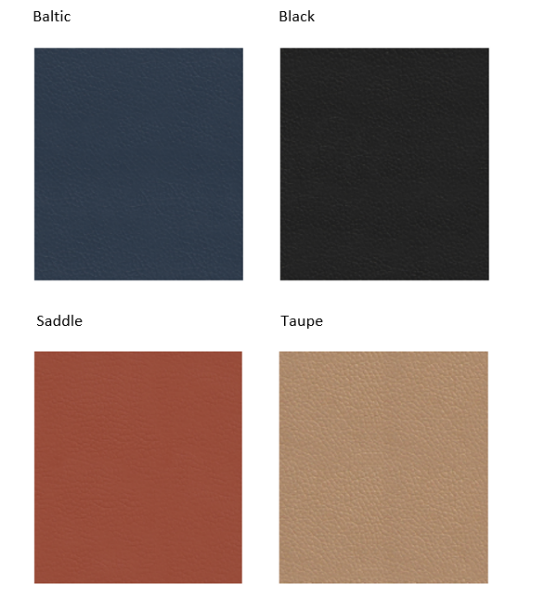 Workhorse Saddle Chair Colour Swatches