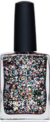 Multi Coloured Glitter Nail Polish