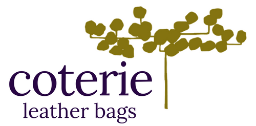 Coterie leather bags logo