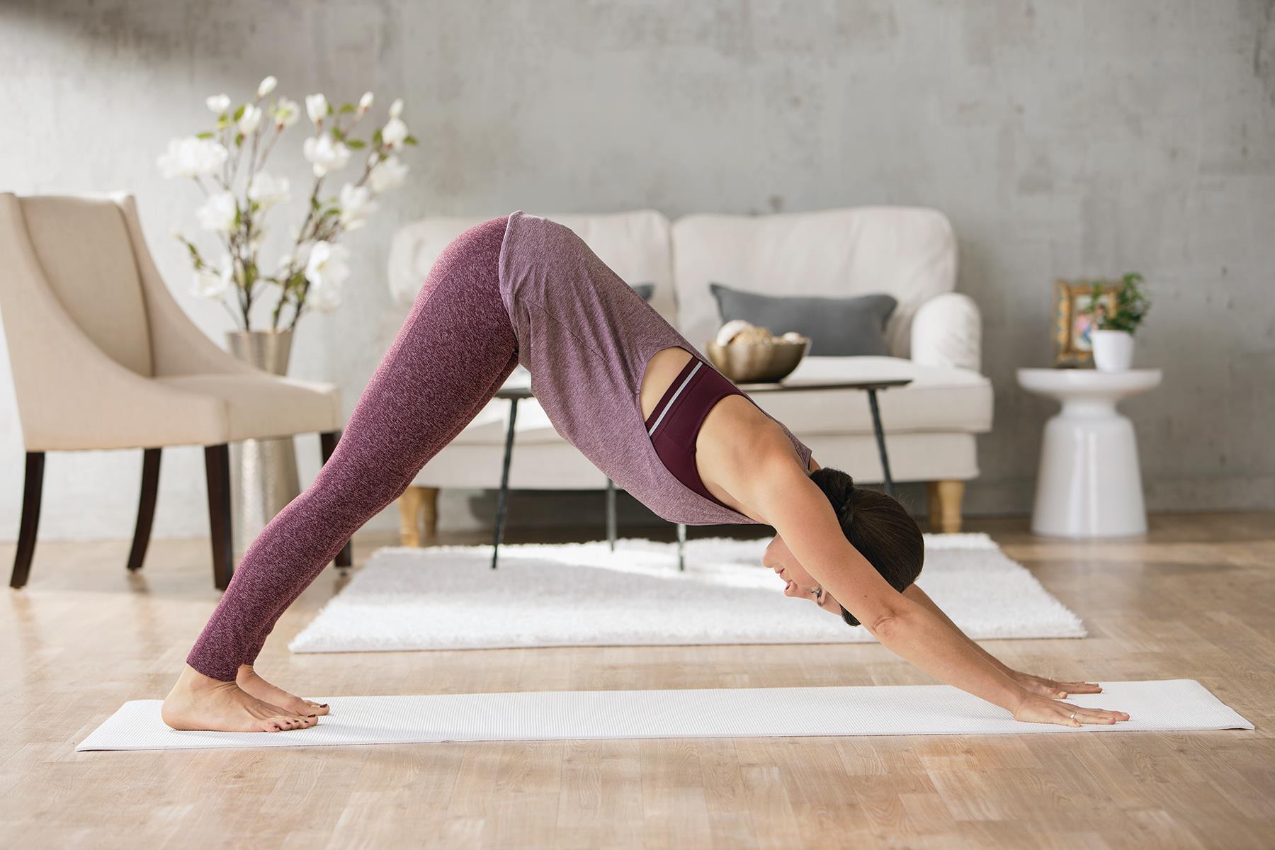 cours de yoga à la maison