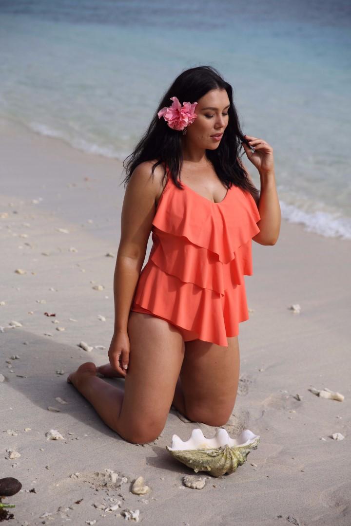 womens plus size swimwear