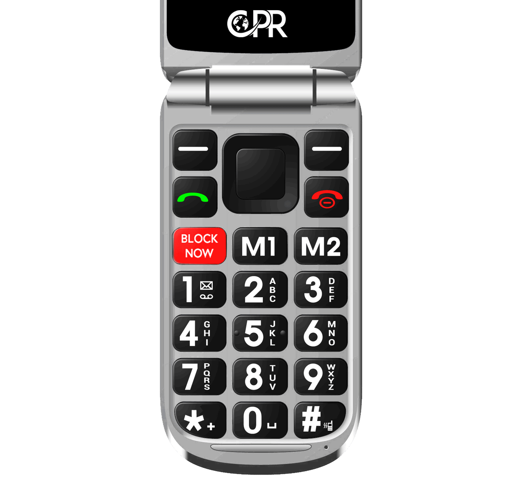 CPR CS900 mobile with big buttons