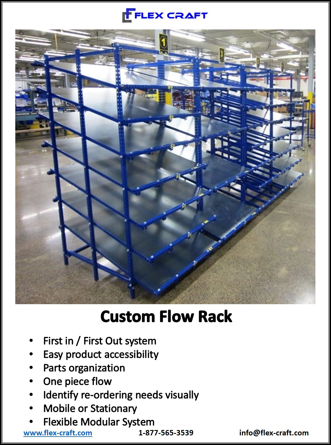 Heavy Duty Flow Rack Shelving