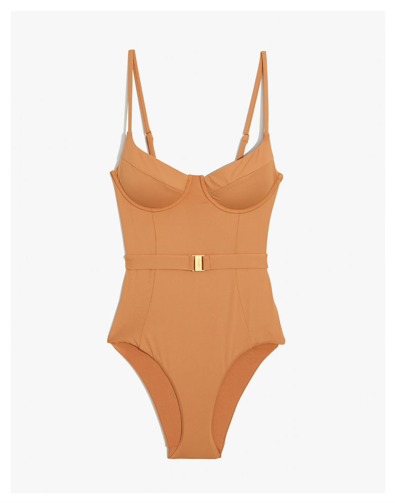 ONIA x WeWoreWhat Danielle Nude One Piece