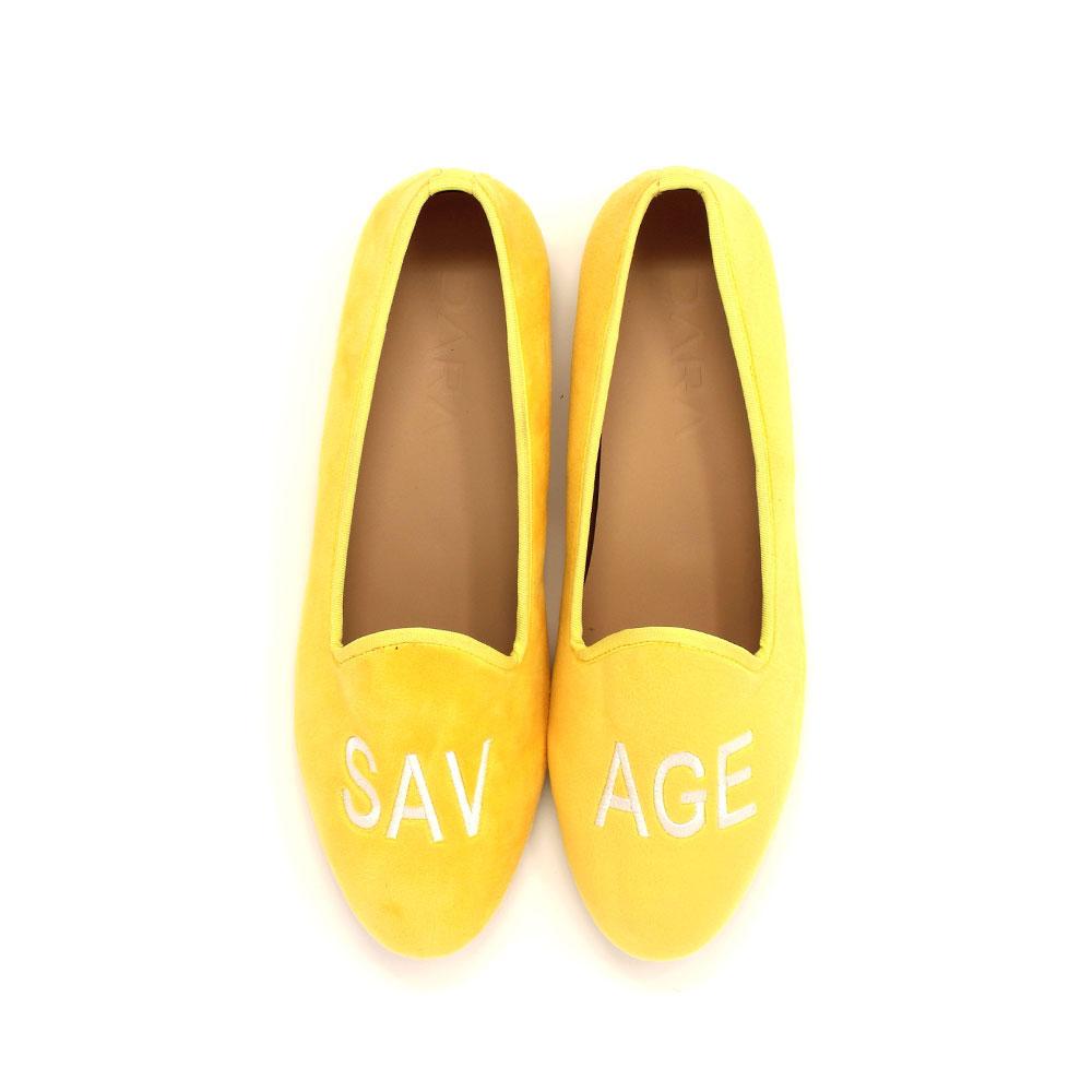 dara shoes milan slipper in brown paisley velvet slippers yellow