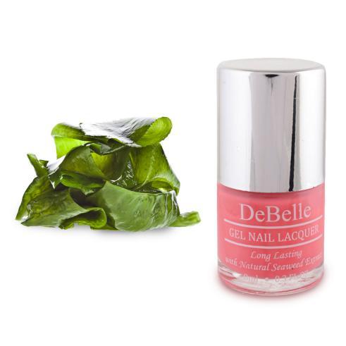 DeBelle Gel Nail Lacquer BeBe Kiss (Baby Pink Nail Polish)