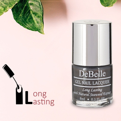 DeBelle Gel Nail Lacquer Copper Glaze (Dark Brown)