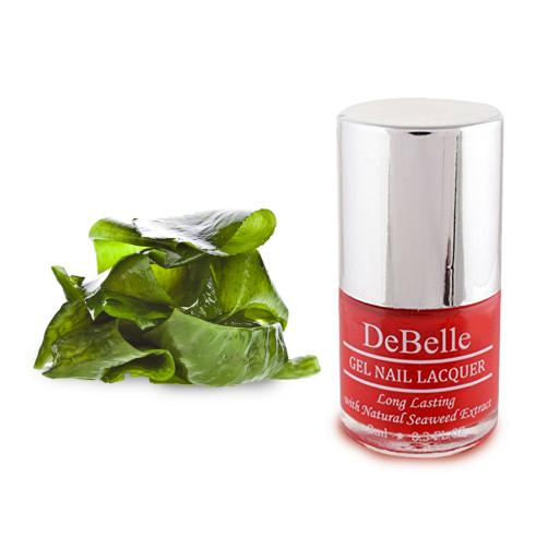DeBelle Gel Nail Lacquer French Affair (Red Nail Polish)