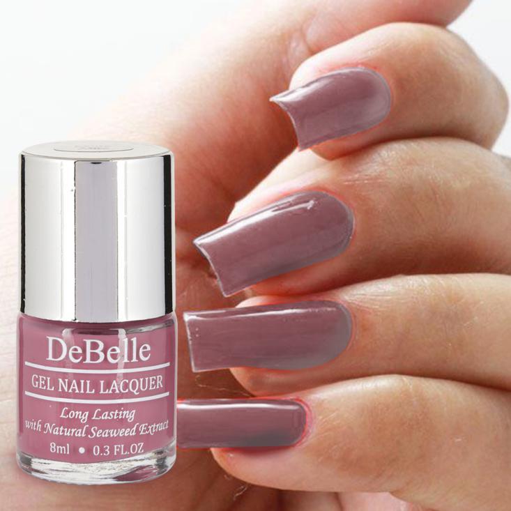 DeBelle Gel Nail Lacquer Laura Aura (Light Magenta Nail Polish)