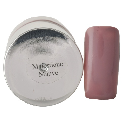 DeBelle Gel Nail Lacquer Majestique Mauve (Mauve Nail Polish)