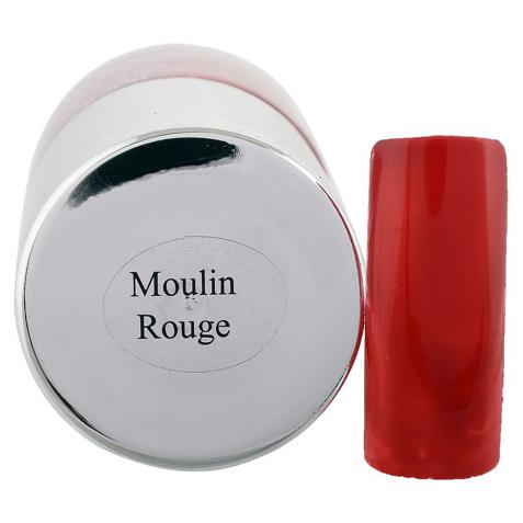 DeBelle Gel Nail Lacquer Moulin Rouge (Maroon Nail Polish)