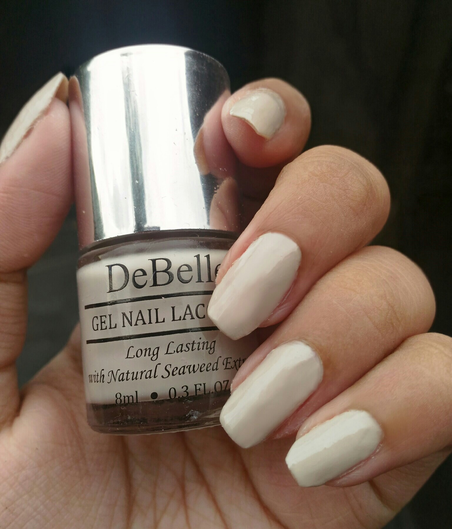 DeBelle Gel Nail Lacquer Natural Blush (Beige Nail Polish)