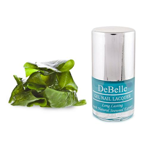 DeBelle Gel Nail Lacquer Royale Cocktail (Turquoise Blue Nail Polish)