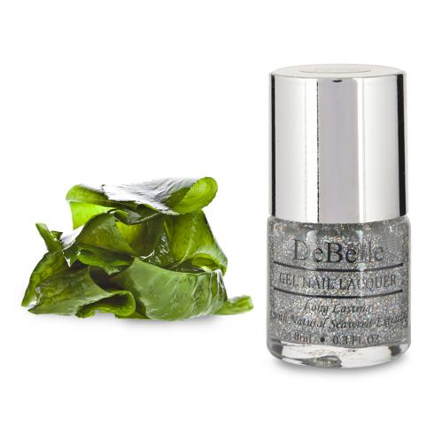 DeBelle Gel Nail Lacquer Shimmer Top Coat (Holo Nail Top Coat)