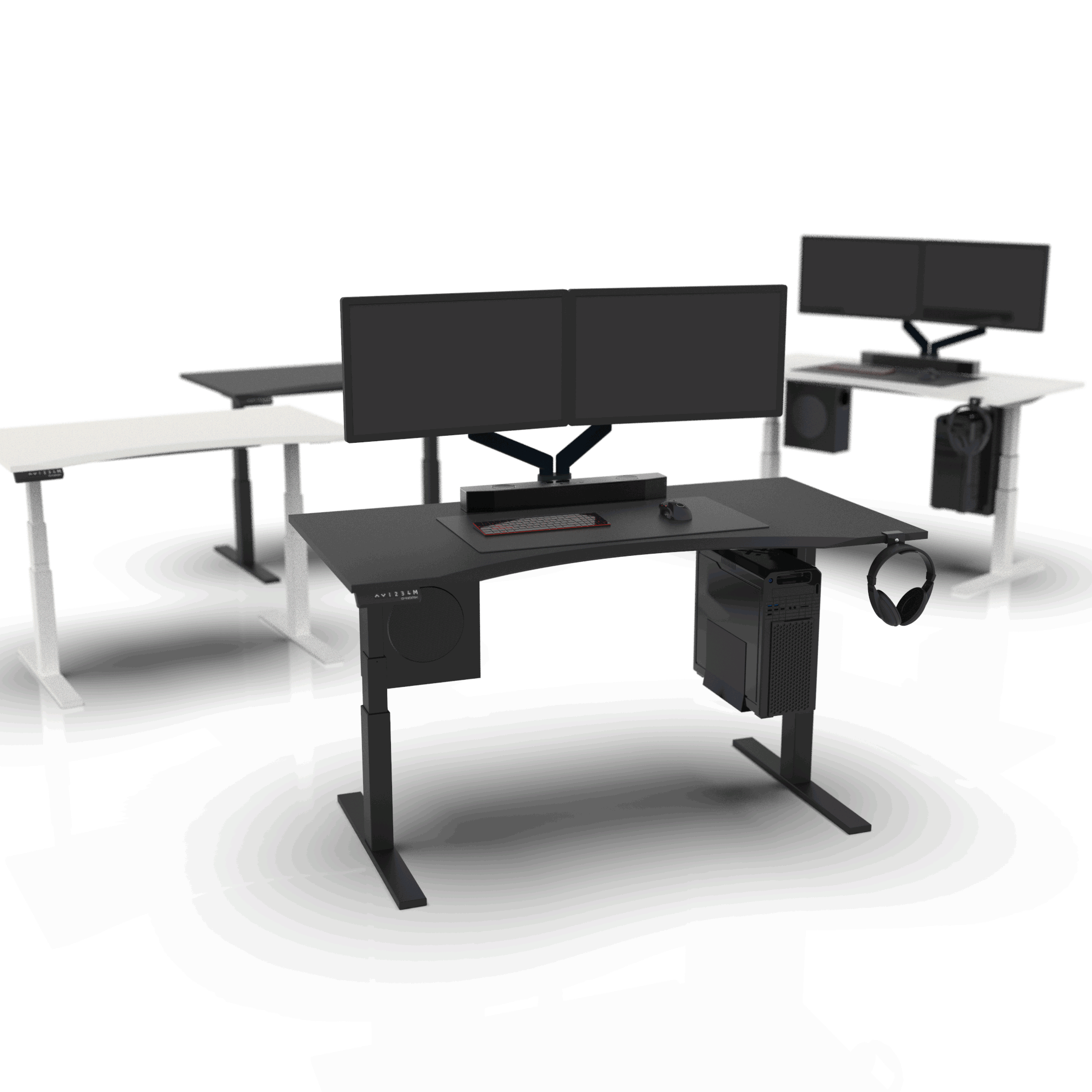 Omnidesk Pro - Ultimate Sit-stand Desk from $680