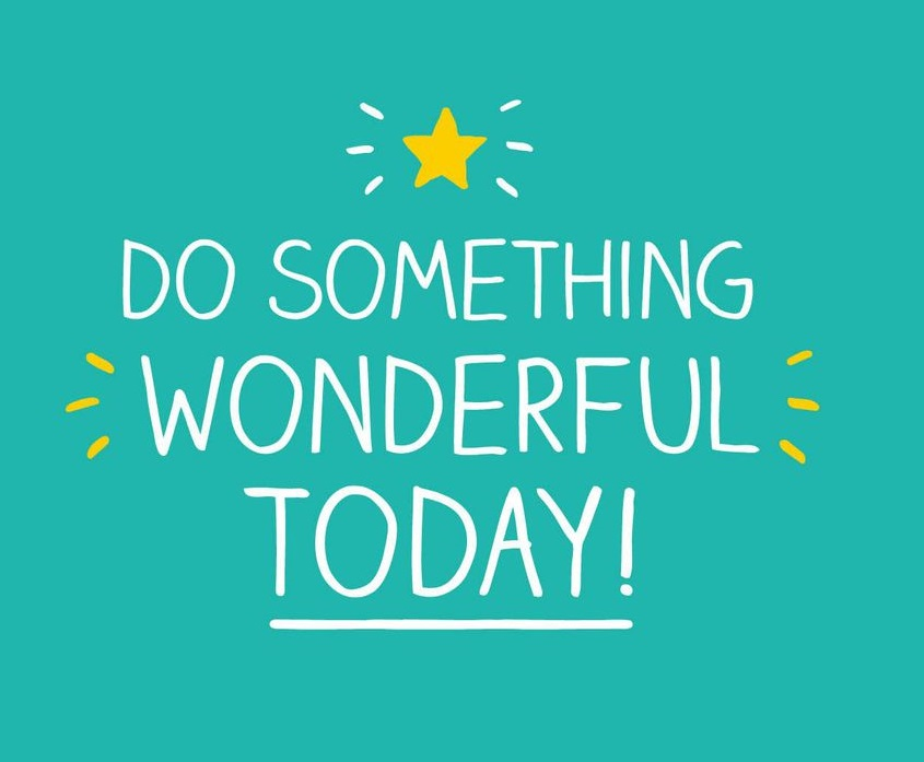 Happy Jackson - do something wonderful today!