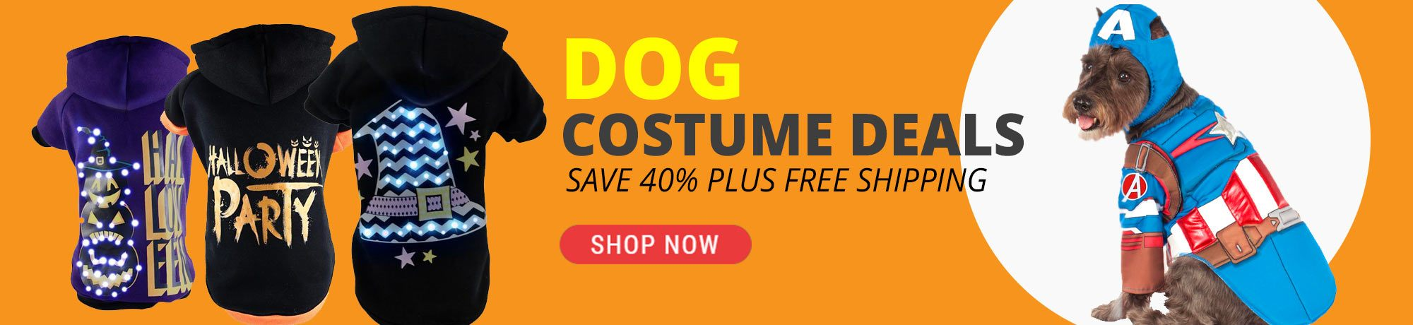 dog costume deals with free shipping