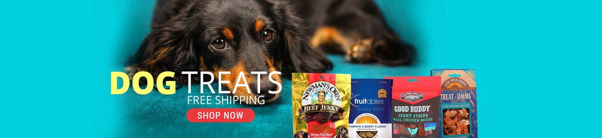 dog treats with free shipping