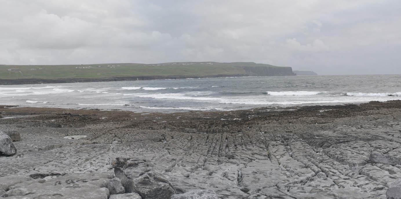 cliffs of moher seen from Doolin Pier Ireland