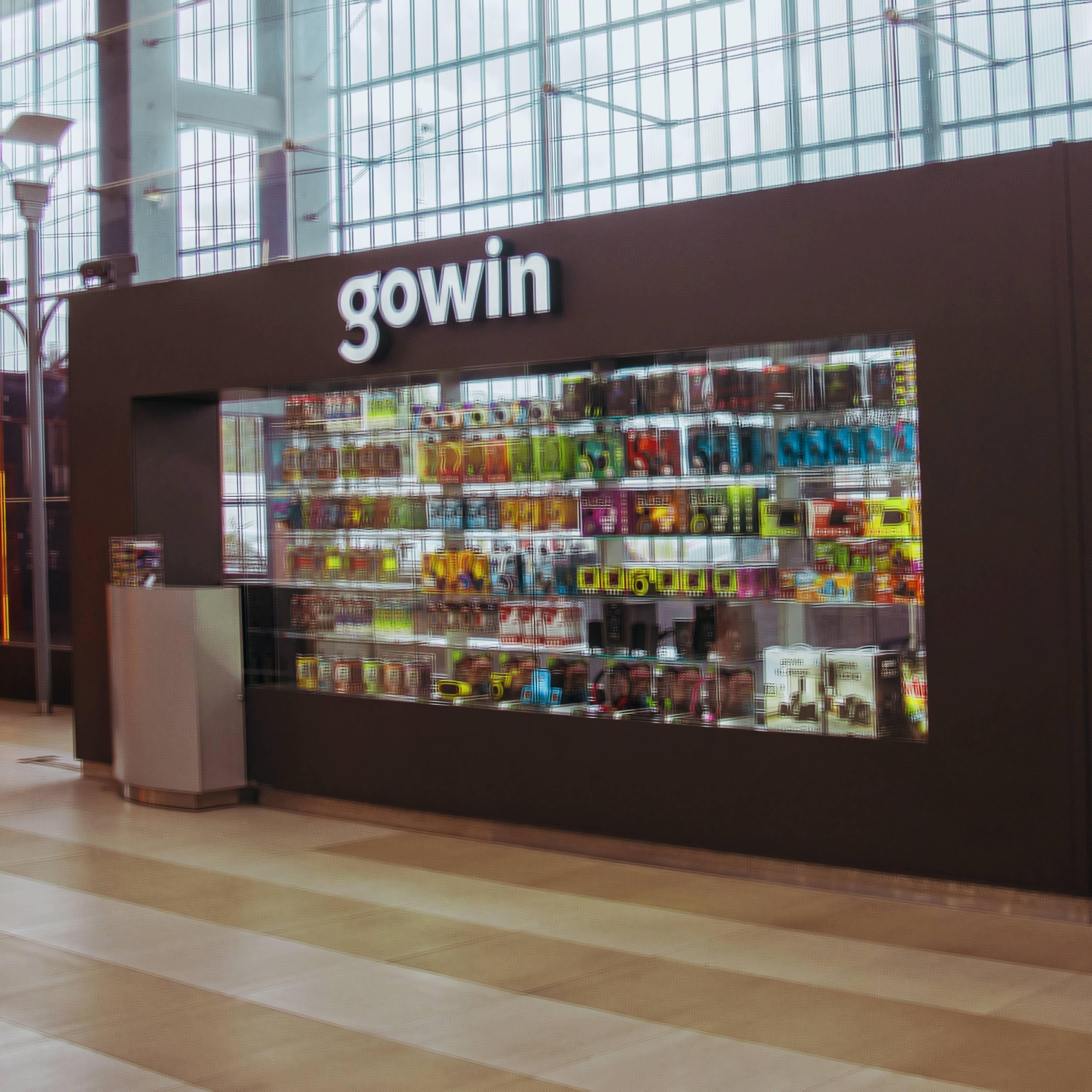 tienda gowin aeropuerto
