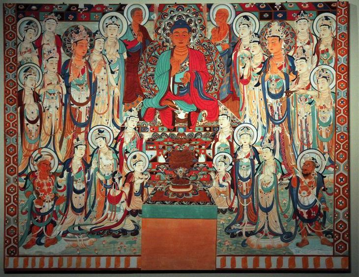Mogao Caves' Buddhist Art