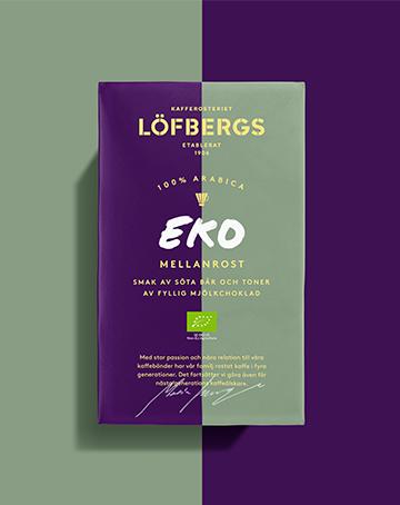 Löfbergs EKO MELLANROST Filtermalt 450 g