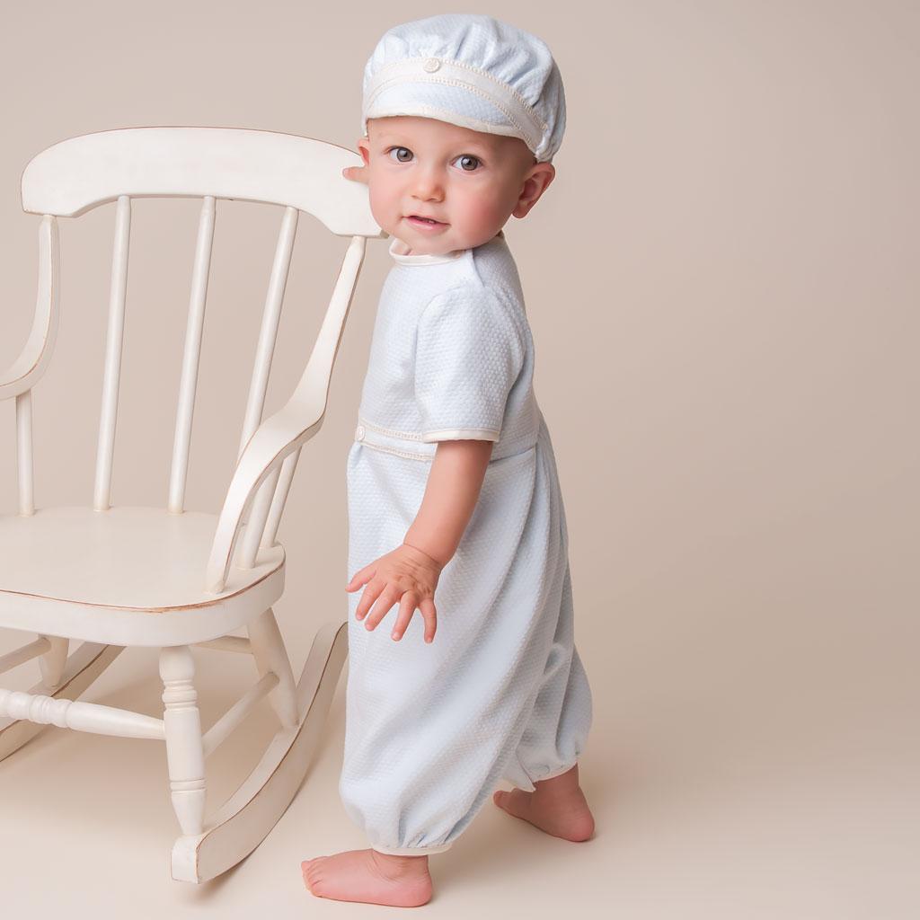 Christian Linen Suit Set