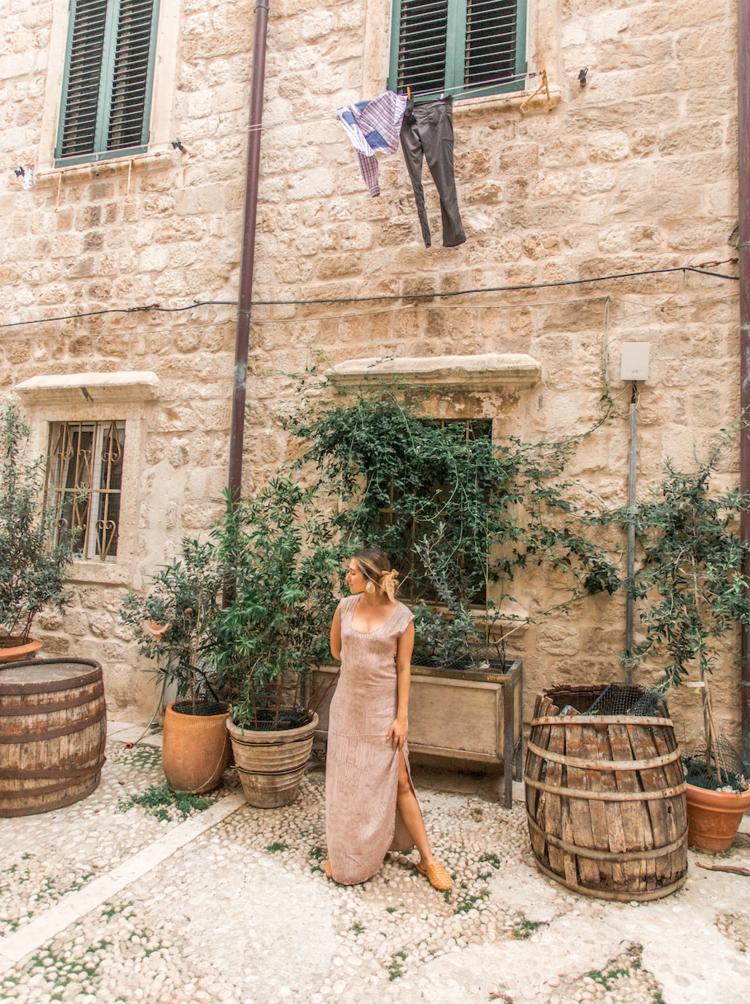 Emily in Croatia