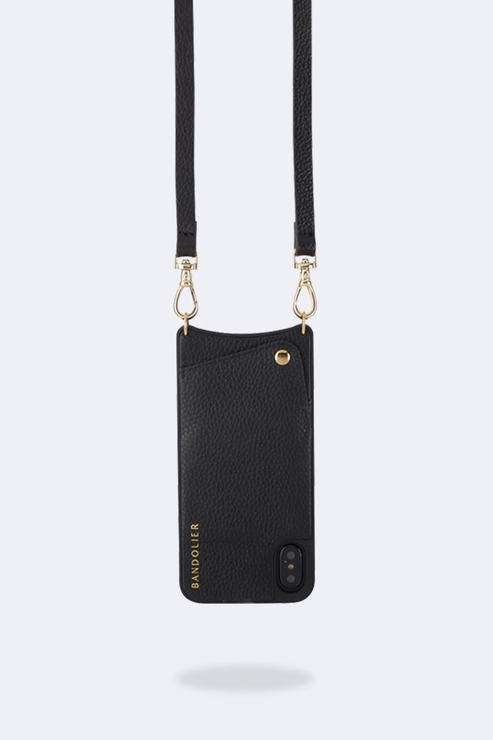Bandolier Emma Pebbled leather cross-body iPhone Case