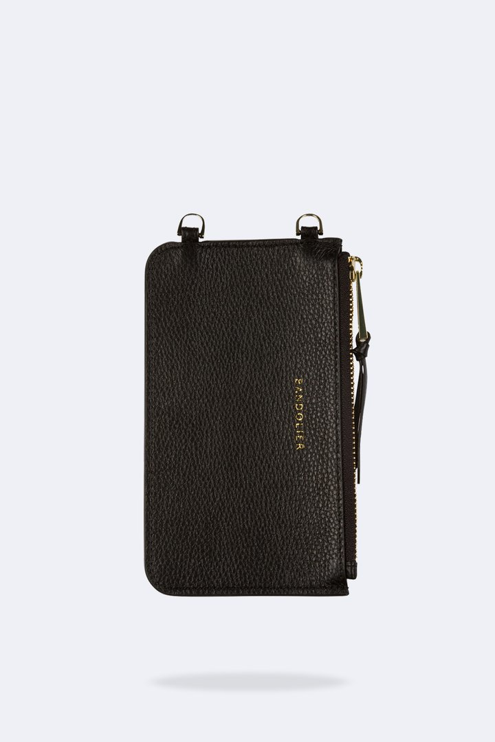 Bandolier Emma Pebbled leather iPhone Pouch