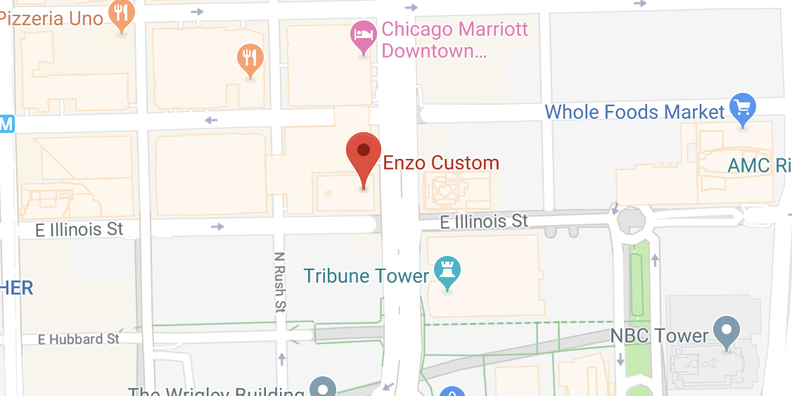 Enzo Chicago on Maps