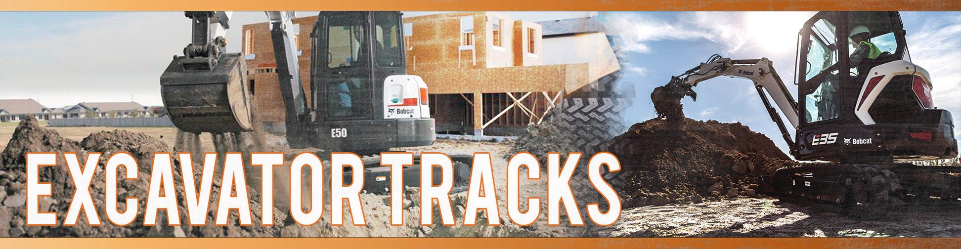 Replacement Excavator Tracks