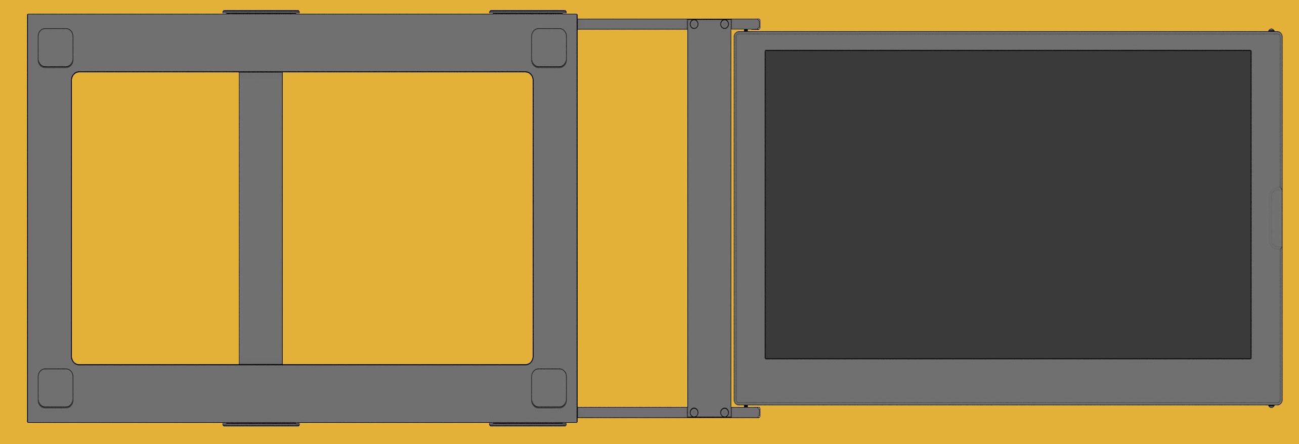 SideTrak portable laptop monitor extends 29