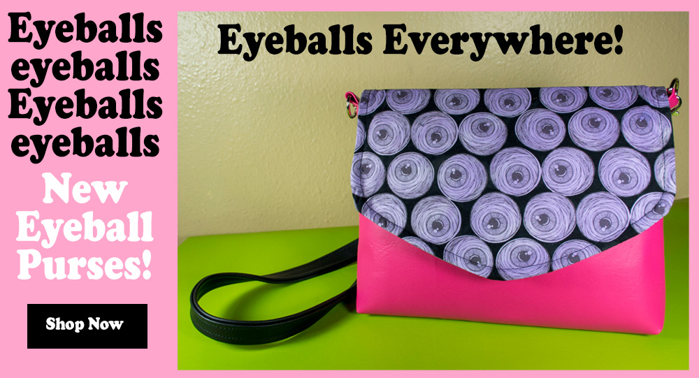 eyeball purses