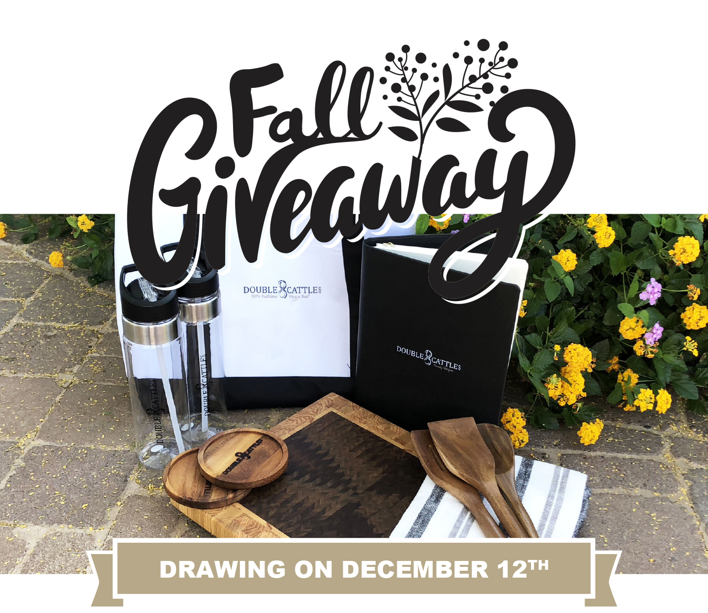 Double8Cattle Fall Giveaway
