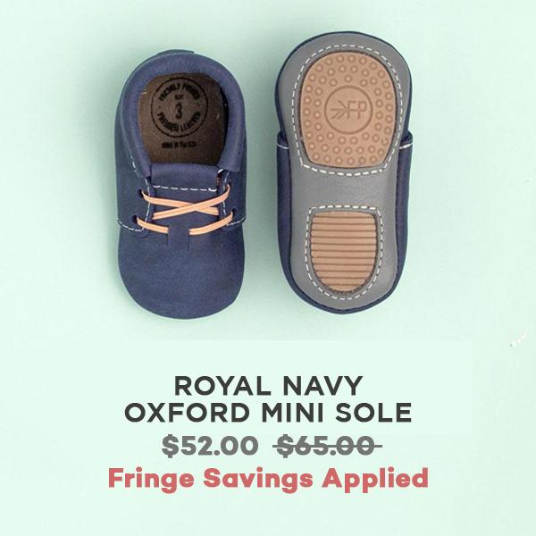 Royal Navy Oxford Mini Sole   Freshly Picked
