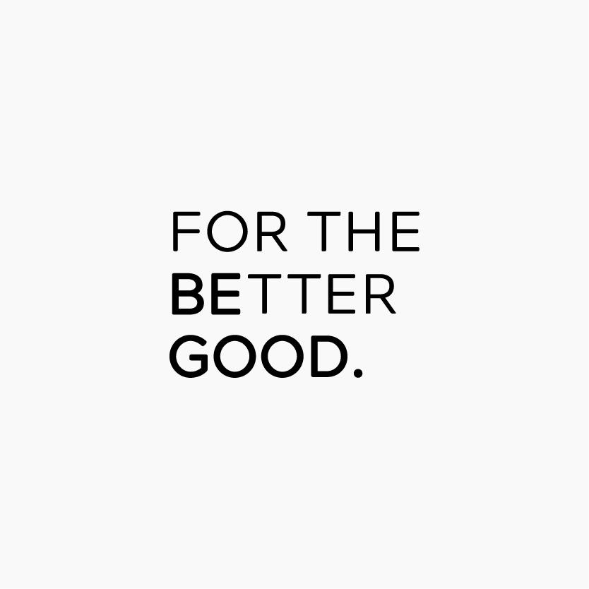 For the Better Good logo